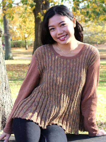 15.09 Orientalsk bluse