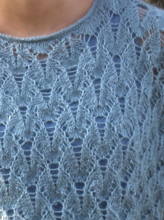 34.01 Blondebluse i Dolche Mohair