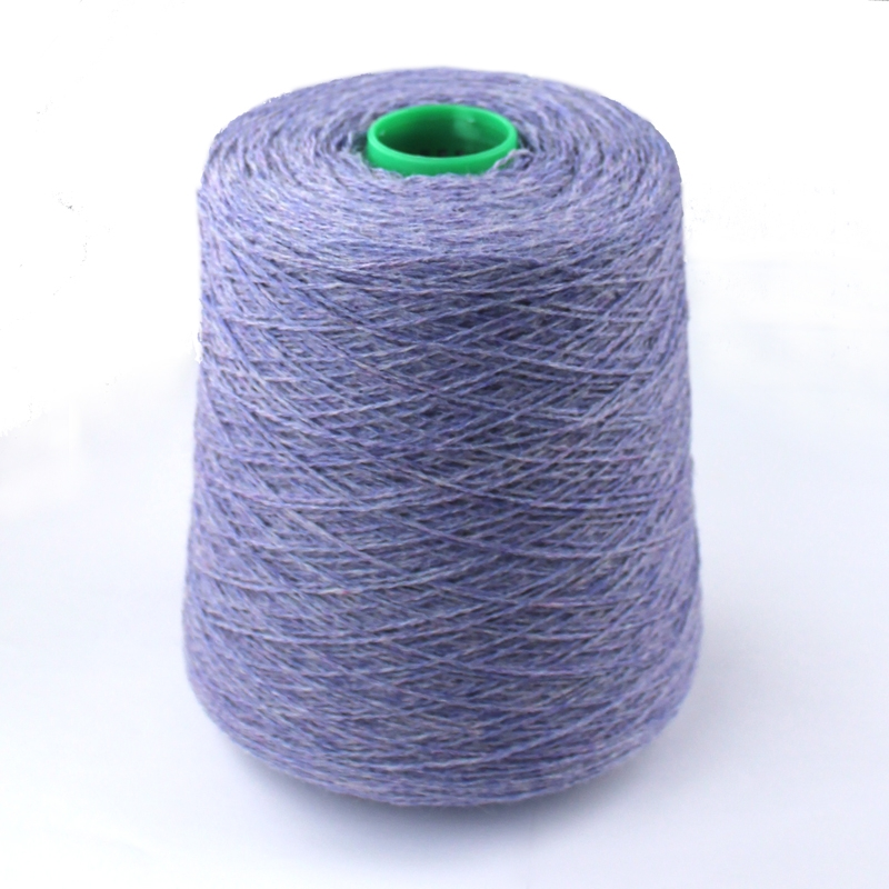 Shetlandsuld på cones-4160 Lavendel
