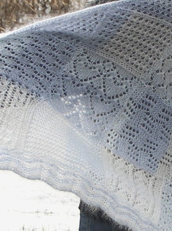 417 Super Karla's Fantastic Dream Shawl UK