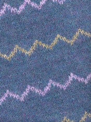 565 Jakke med zigzag-striber