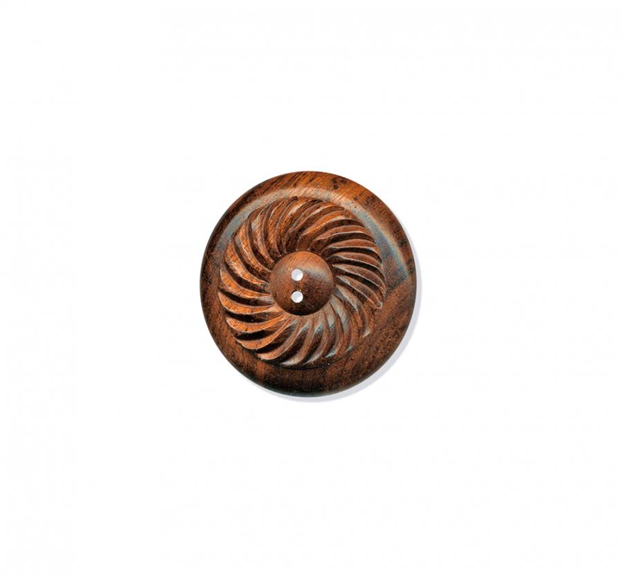 K Swirled Wood brun