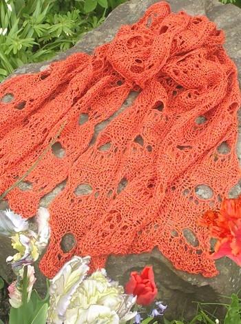 13.40 Tørklæde med tigerøje-mønster