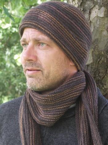 788 Herre-halstørklæde og -hue