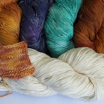 Senary Silk ufarvet