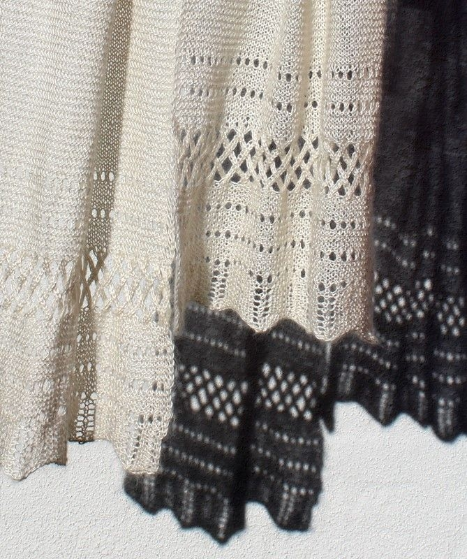 21.14 Aflangt sjal
