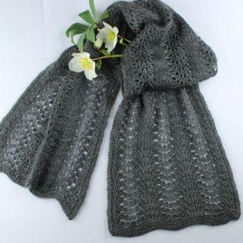 SRS 3005 Tørklæde i silkemohair