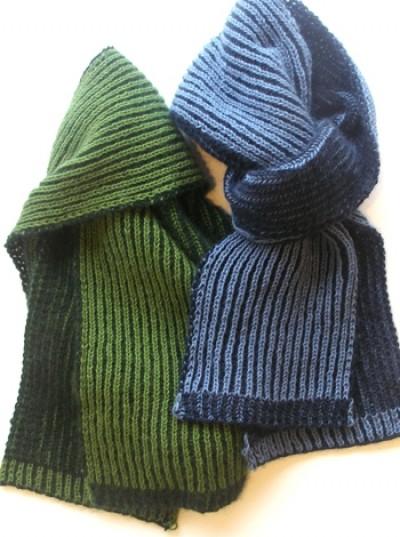 L109-4 Herre tørklæde i patent